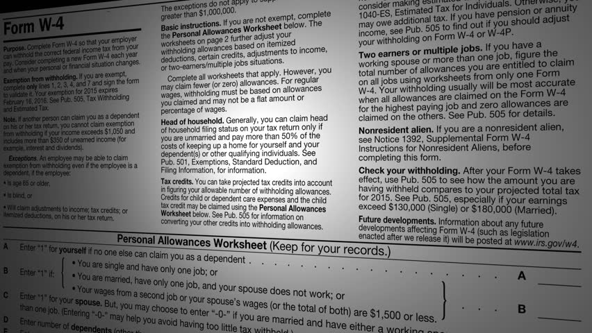 Tax Time 1040 Income Tax Return Refund Accounting Document Form ...