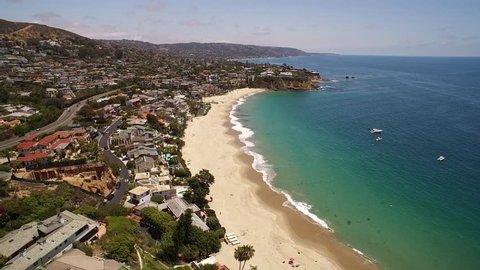 Laguna Beach Aerial Flyover
