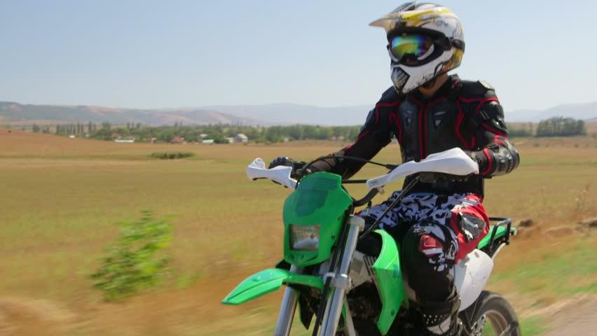 Dirt Bikes Videos >> Enduro Racer Riding Dirt Bike Stock Footage Video 100 Royalty Free 11938910 Shutterstock