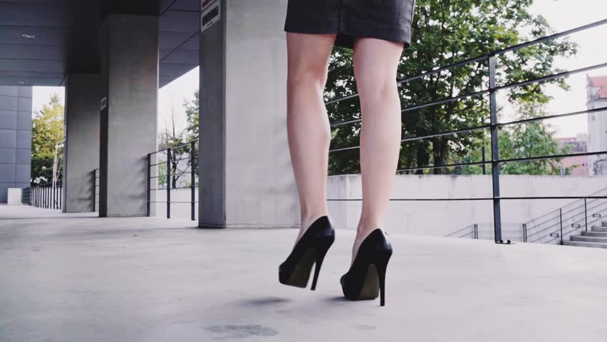 Sexy Woman Legs In Black Stock Footage Video 100 Royalty Free 11954210 Shutterstock