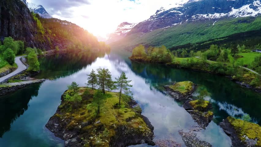 9fd774568640 Beautiful Nature Norway. Stock Footage Video (100% Royalty-free) 12030320 |  Shutterstock