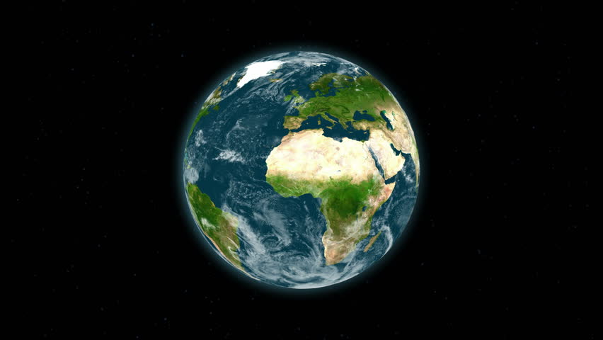 Spinning Globe - Earth Texture By NASA.gov Stock Footage ...