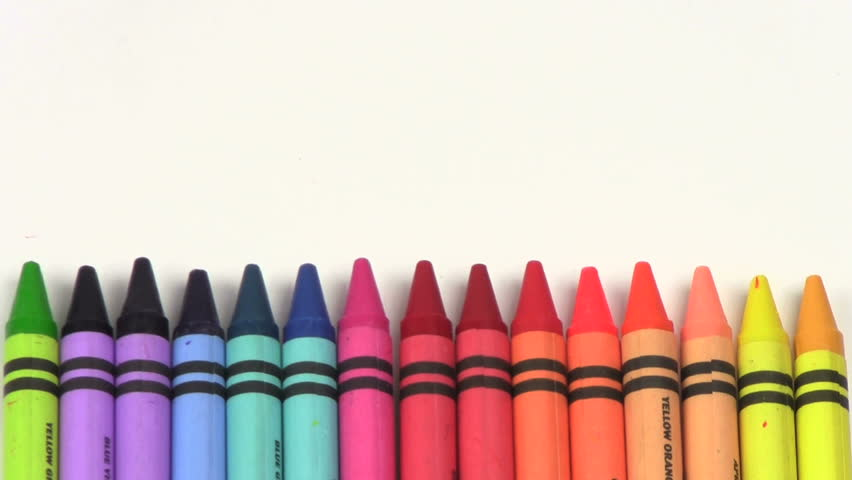 stock video of colorful crayons stop motion 1213510