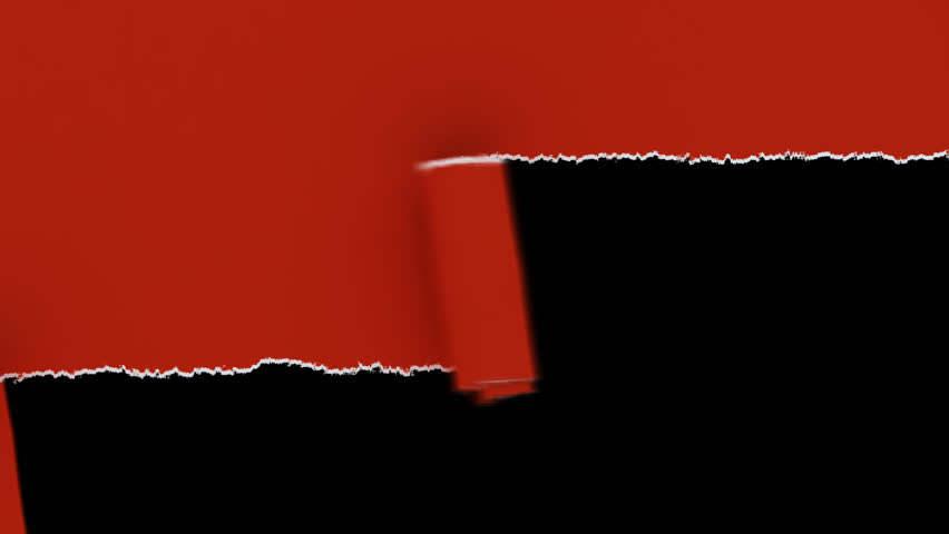 Animated Transparent Paper Rip