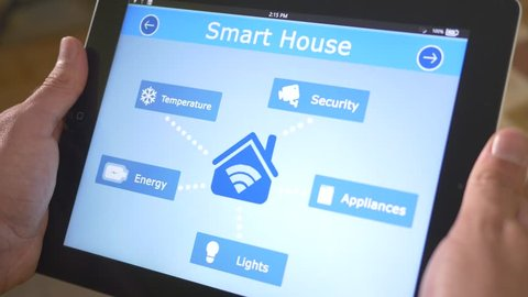 Smart house automation application on tabletcontroling the different lights sources of the building. The market is expected to grow of 11.36% between 2014/2020, and reach $12.81 billion by 2020.