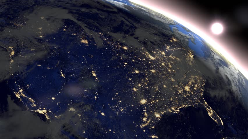 north america from space hd - photo #5