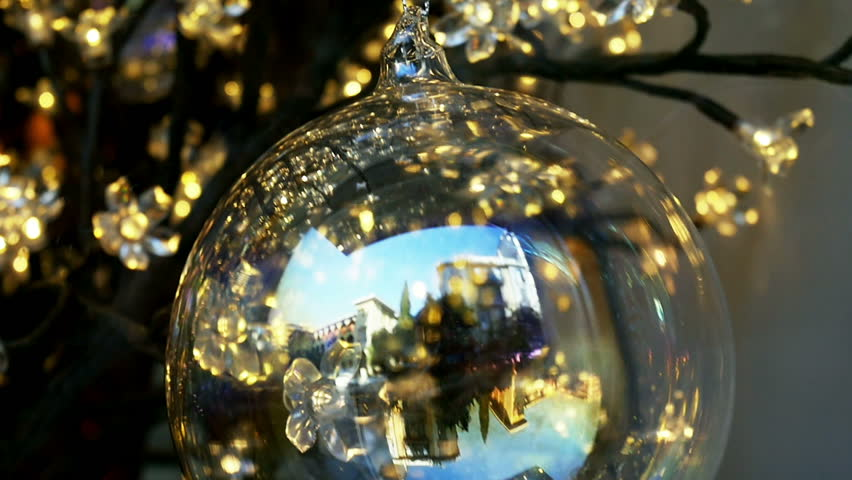 Elegant Christmas Ornaments Decorations In Stock Footage Video 100 Royalty Free 12284120 Shutterstock