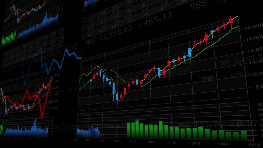 Business Data Graph. | Shutterstock HD Video #12321068