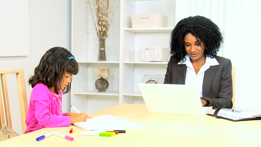 Business Businesswoman Ethnic Female Home Work Financial Advisor ...