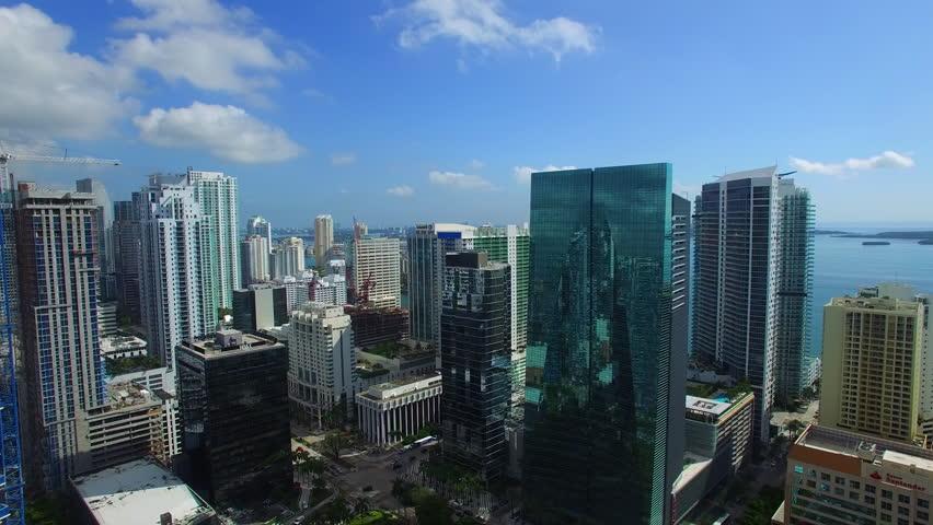 Aerial Brickell   Shutterstock HD Video #12357620