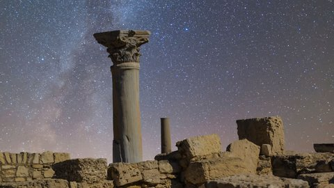 ancient greek town scene cyprus limassol