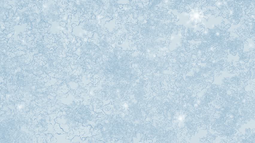 Ice On Frozen Window Texture Stock Footage Video 100