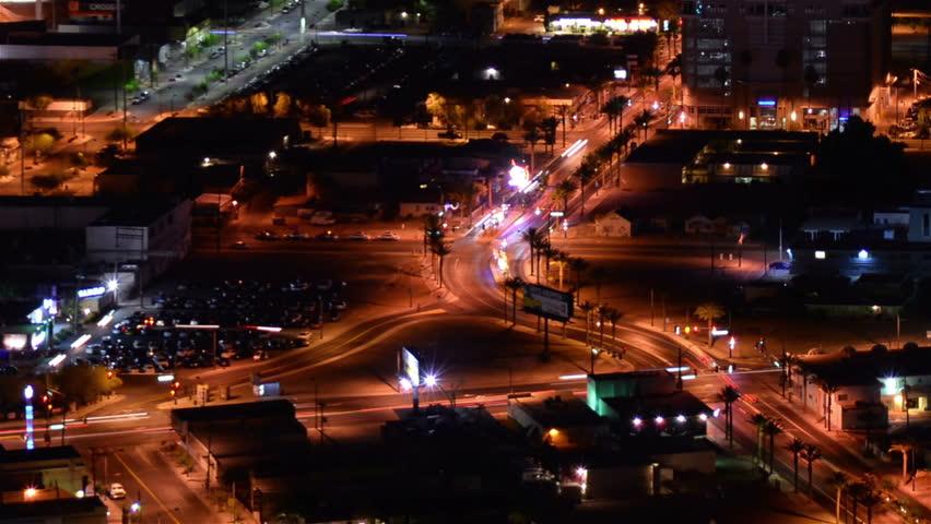 Las Vegas Cityscape 18 Time Lapse Loop | Shutterstock HD Video #12654740