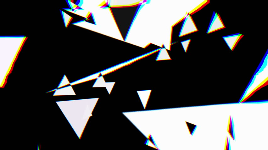 Abstract graphic composition including video footage and computer generated elements mixed together. | Shutterstock HD Video #12719990
