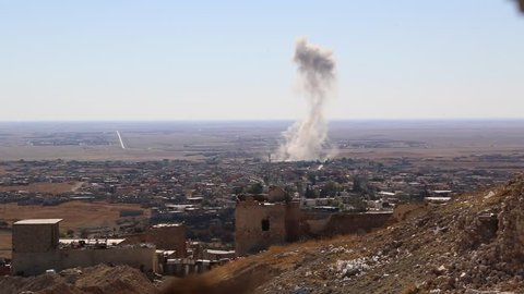 Kurdistan November 2015: Kurdistan November 2015: Smoke Rising from Attack on ISIS in Remote Iraq