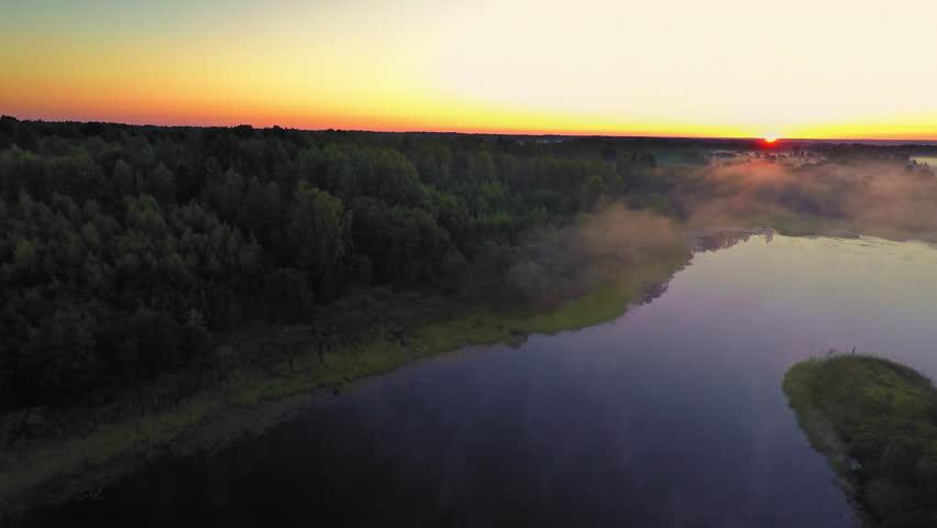 Russia, Novgorod region, august 2015 (Aerial Drone flights) | Shutterstock HD Video #12912620