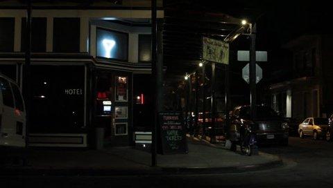 Exterior of neighborhood bar New Orleans, LA