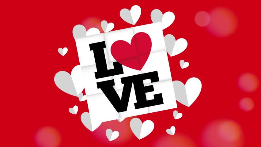 Love card design, Video Animation HD1080 | Shutterstock HD Video #12993320
