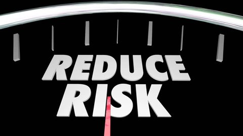 Reduce Manage Identify Assess Risk Speedometer