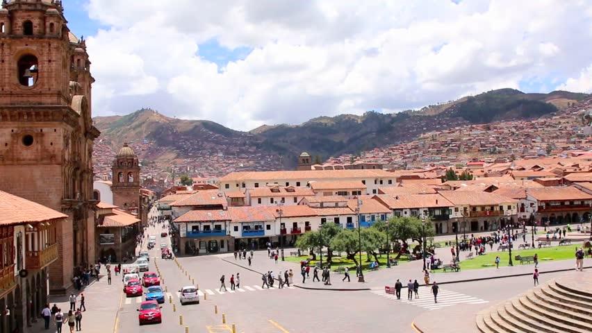 Plaza de Armas Viaje a Cuzco