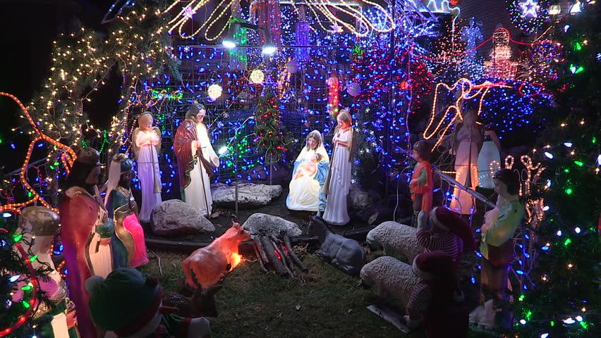 Christmas In Toronto Canada.Toronto Ontario Canada December 2015 Stock Footage Video 100 Royalty Free 13200860 Shutterstock