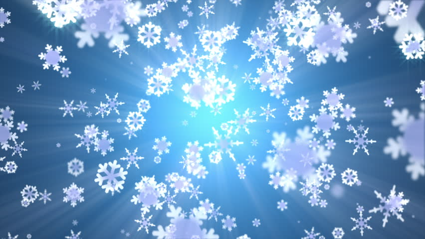 Snow falling animated abstract background stock footage - Free screensavers snowflakes falling ...