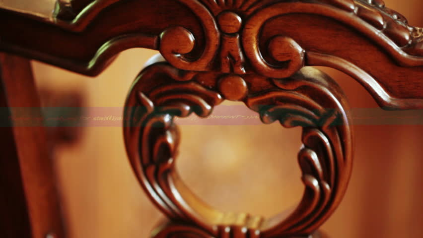 In house on furniture carvings
