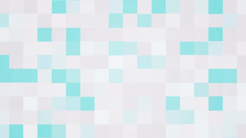 computer generated animated white and blue blinking