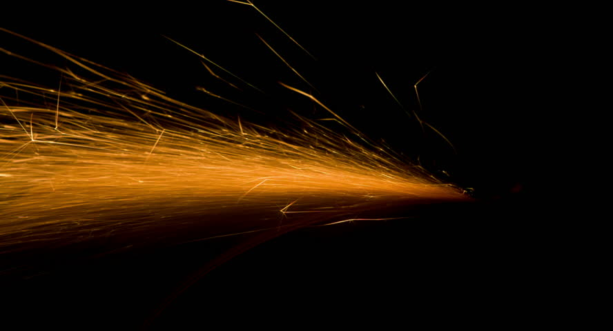 Strong Flow of Comet-like Spark Stock Footage Video (100% Royalty-free)  13424840 | Shutterstock