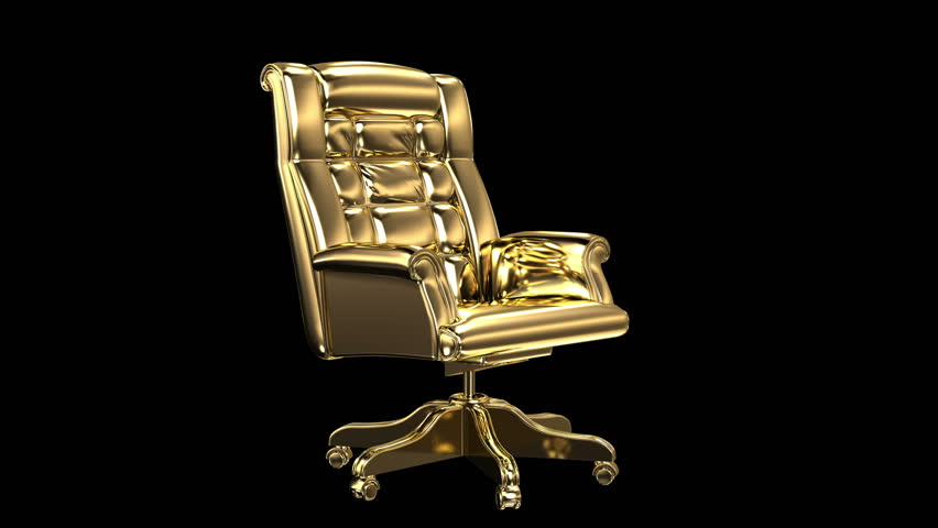 office chair isolated stock footage video | shutterstock