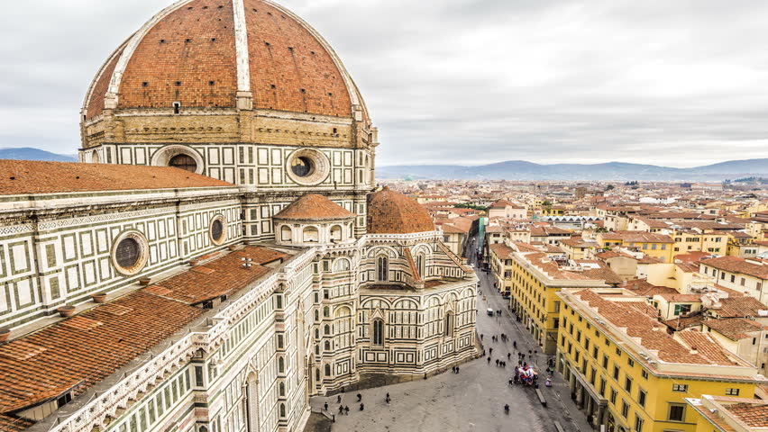 Florence Cathedral time lapse | Shutterstock HD Video #13462250