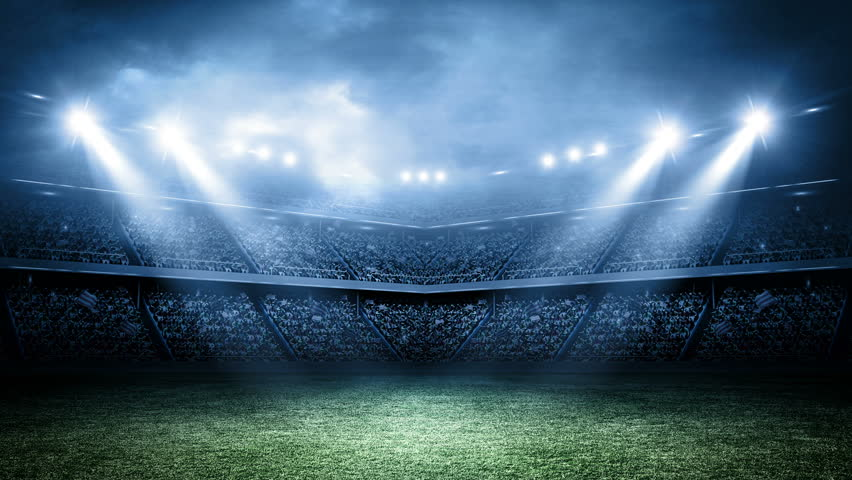 Header of stadium