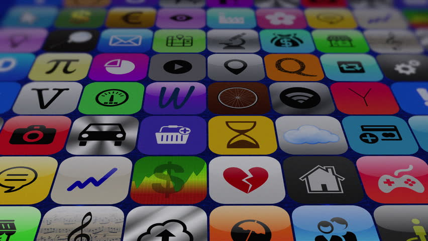 4K: App store. Buying and downloading mobile apps #13744787