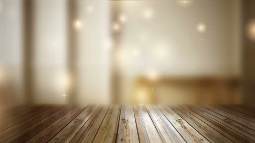 Perspective Wood And Bokeh Light Background. Product ...