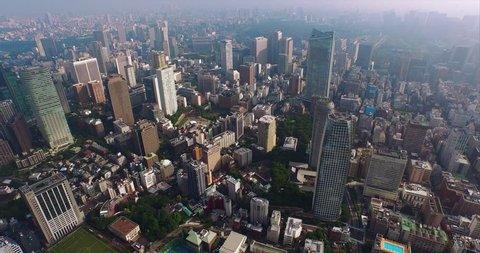 Tokyo Japan Aerial Views (Tokyo 2015) Tokyo Skyline