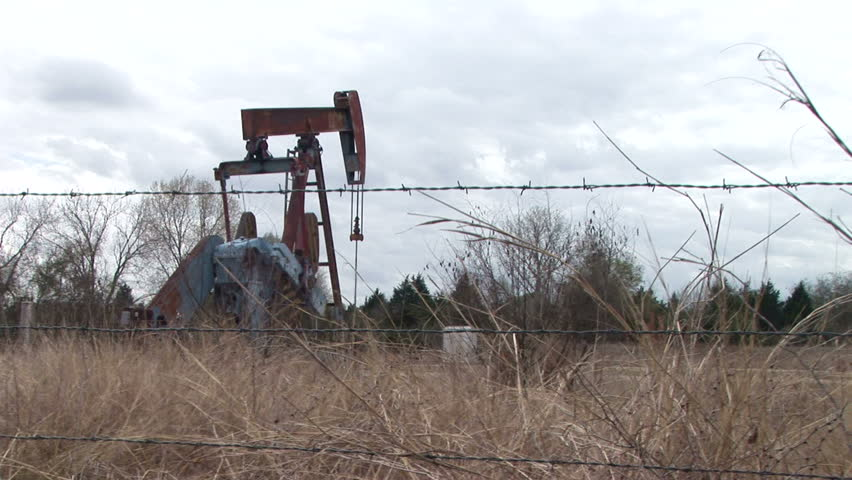 Texas oil wells