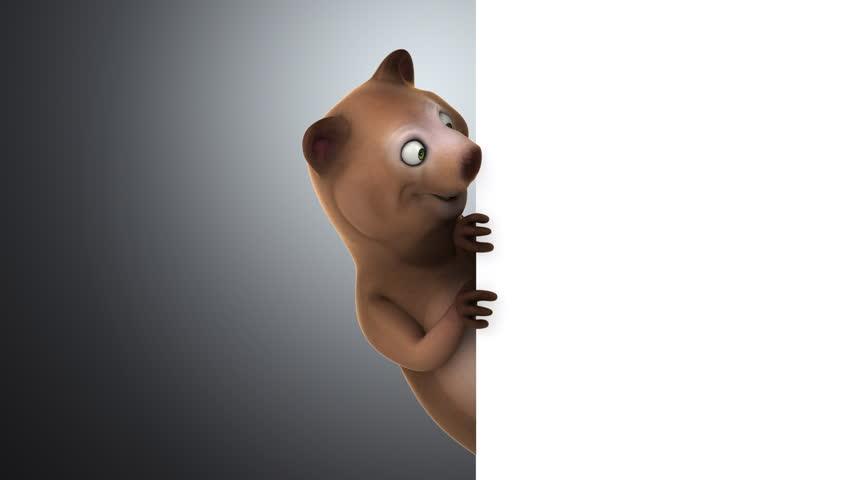 Fun bear | Shutterstock HD Video #14062874