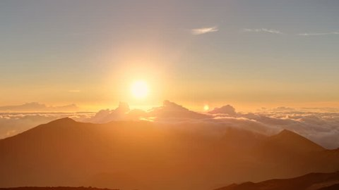 Perfect Time Lapse Dawn, High Altitude HDR, Flawless