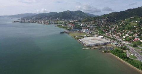 Trinidad and Tobago, Trinidad, Coastline, West, Port Of Spain
