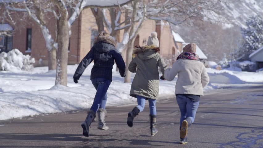 Snow teens video