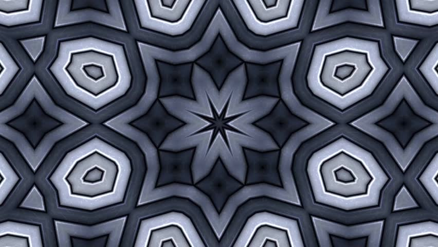 Abstract background as kaleidoscopic pattern | Shutterstock HD Video #14485300