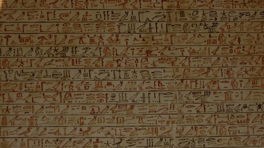 Luxor egypt january 13 2006 ancient egyptian for Ancient egyptian tomb decoration