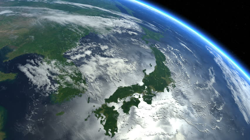 Satellite View Of Earth Stock Footage Video Shutterstock - World map satellite view video