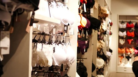 2b52b9fb69287 Lingerie Store Stock Video Footage - 4K and HD Video Clips | Shutterstock