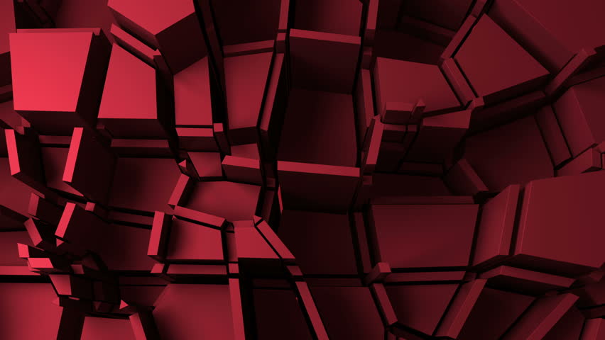 Abstract background with randomly forms that have different height, loopable movement of elements | Shutterstock HD Video #14697541