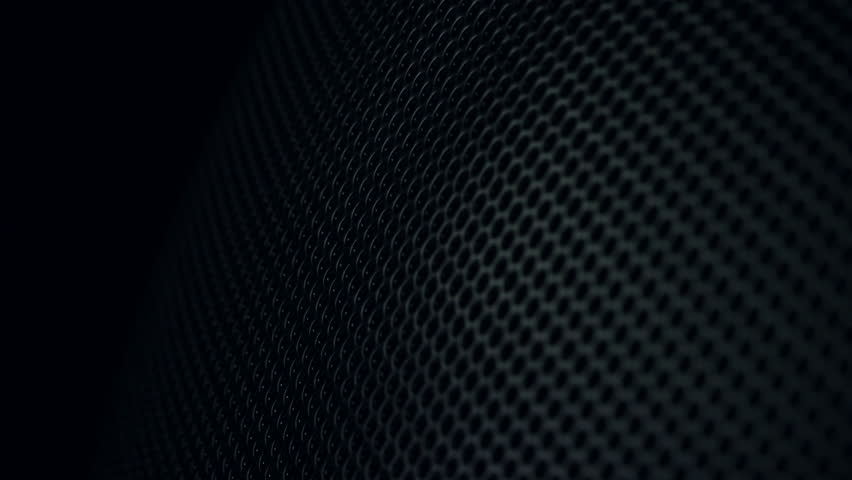 Metallic grid motion background  Dark metal background with perforated  holes  4K 3840x2160 UHD video. Dark Metal Background With Perforated Holes  Stock Footage Video