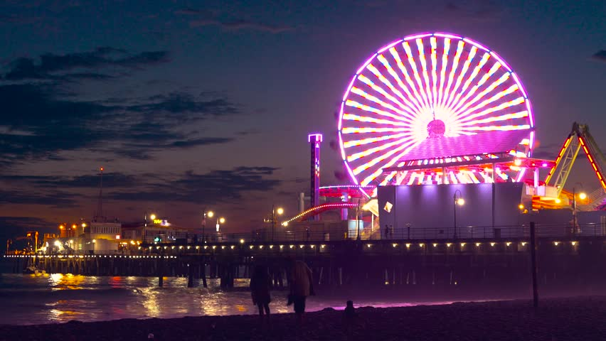 Santa Monica Pier Stock Video Footage 4k And Hd Clips Shutterstock