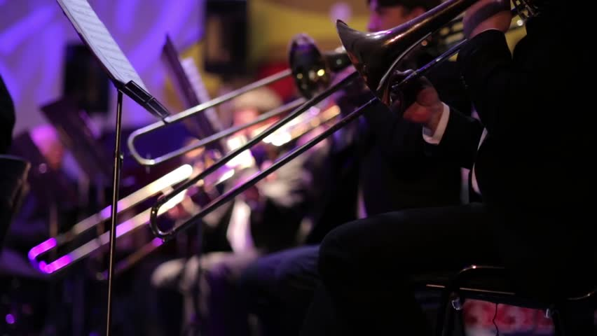 Brass Band Concert  Close-up of Stock Footage Video (100% Royalty-free)  14798470 | Shutterstock