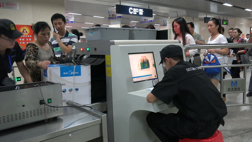 Image result for checkpoint subway china