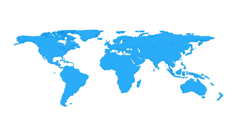 Social network world map animation 3d stock footage video 2251153 world map with pins hd hd stock footage clip gumiabroncs Image collections